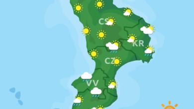 Previsioni Meteo Calabria 25-11-2020