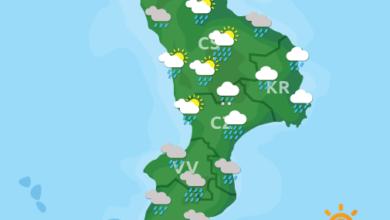 Previsioni Meteo Calabria 28-11-2020