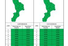 Criticità idrogeologica-idraulica e temporali in Calabria 24-11-2020