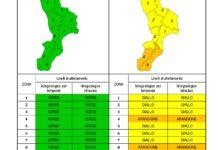 Criticità idrogeologica-idraulica e temporali in Calabria 27-11-2020