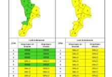 Criticità idrogeologica-idraulica e temporali in Calabria 02-12-2020