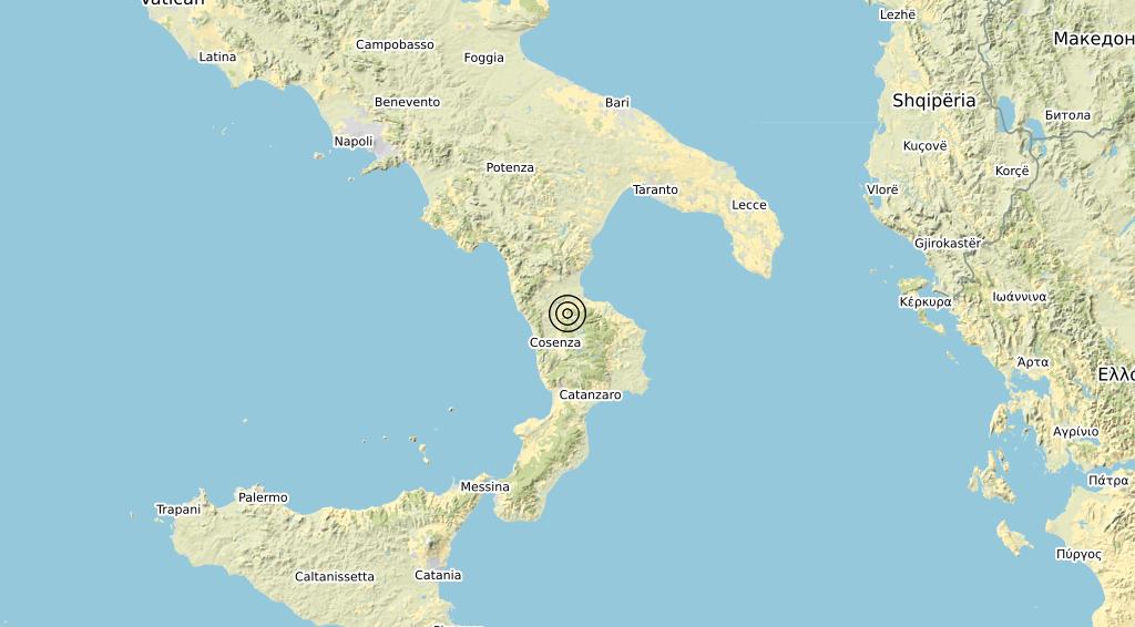 Terremoto 13-12-2020