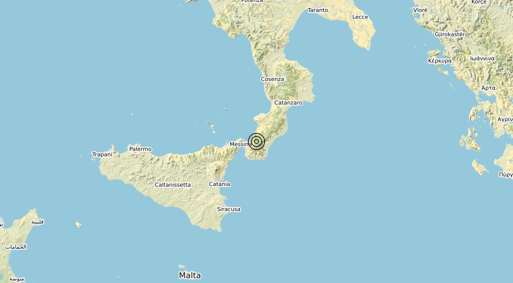 Terremoto 22-12-2020