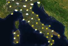 Previsioni del tempo in Italia per il giorno 19/01/2021