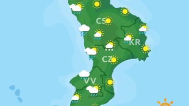 Previsioni Meteo Calabria 14-01-2021