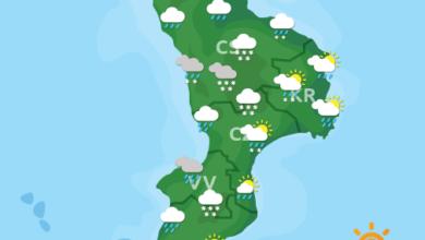Previsioni Meteo Calabria 17-01-2021