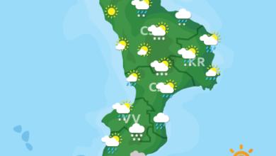Previsioni Meteo Calabria 18-01-2021