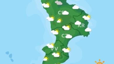Previsioni Meteo Calabria 22-01-2021