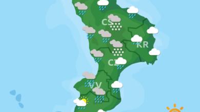 Previsioni Meteo Calabria 24-01-2021