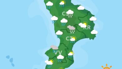 Previsioni Meteo Calabria 25-01-2021