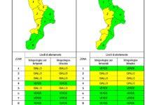 Criticità idrogeologica-idraulica e temporali in Calabria 25-01-2021