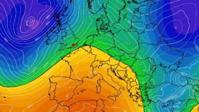 Temperature in graduale e progressivo aumento
