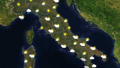 Previsioni del tempo in Italia per il giorno 05/03/2021