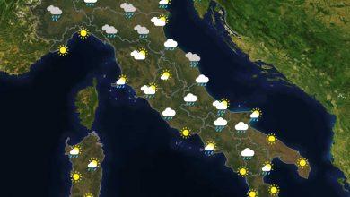 Previsioni del tempo in Italia per il giorno 06/03/2021