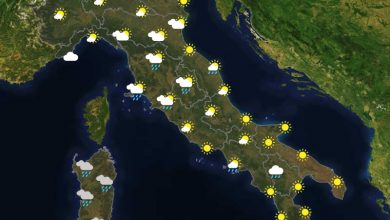 Previsioni del tempo in Italia per il giorno 07/03/2021
