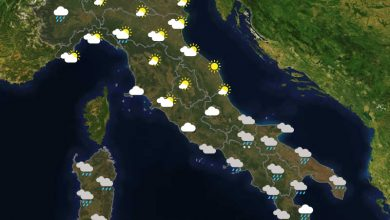 Previsioni del tempo in Italia per il giorno 16/04/2021