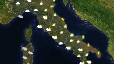 Previsioni del tempo in Italia per il giorno 21/04/2021