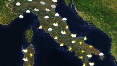 Previsioni del tempo in Italia per il giorno 28/04/2021
