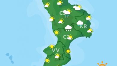 Previsioni Meteo Calabria 14-04-2021