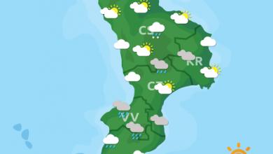 Previsioni Meteo Calabria 15-04-2021