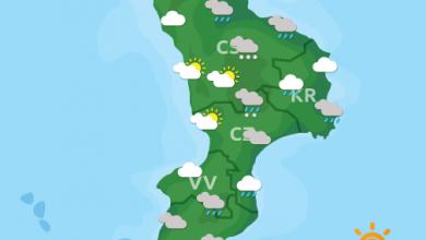 Previsioni Meteo Calabria 17-04-2021