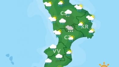 Previsioni Meteo Calabria 18-04-2021