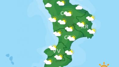 Previsioni Meteo Calabria 30-04-2021