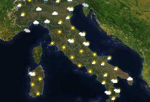 Previsioni del tempo in Italia per il giorno 07/05/2021