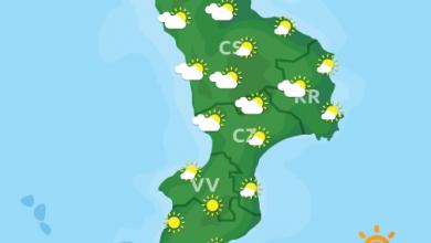Previsioni Meteo Calabria 07-05-2021
