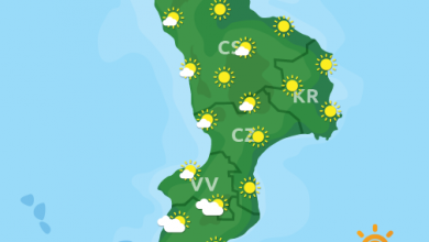 Previsioni Meteo Calabria 09-05-2021