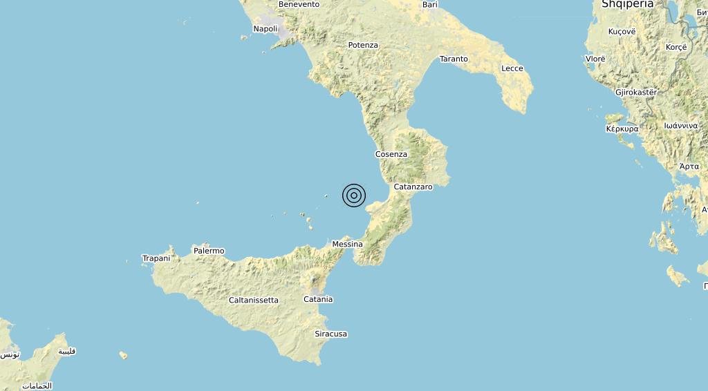 Terremoto 24-05-2021