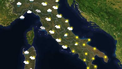 Previsioni del tempo in Italia per il giorno 20/06/2021