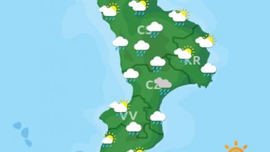 Previsioni Meteo Calabria 12-06-2021