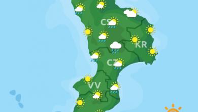 Previsioni Meteo Calabria 14-06-2021
