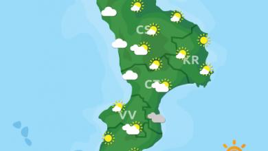 Previsioni Meteo Calabria 16-06-2021