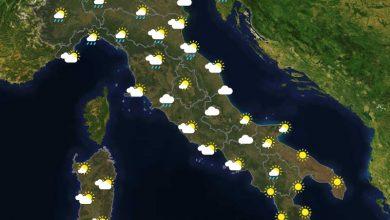 Previsioni del tempo in Italia per il giorno 27/07/2021