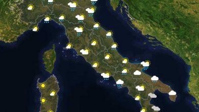 Previsioni del tempo in Italia per il giorno 05/08/2021
