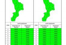 Criticità idrogeologica-idraulica e temporali in Calabria 01-08-2021