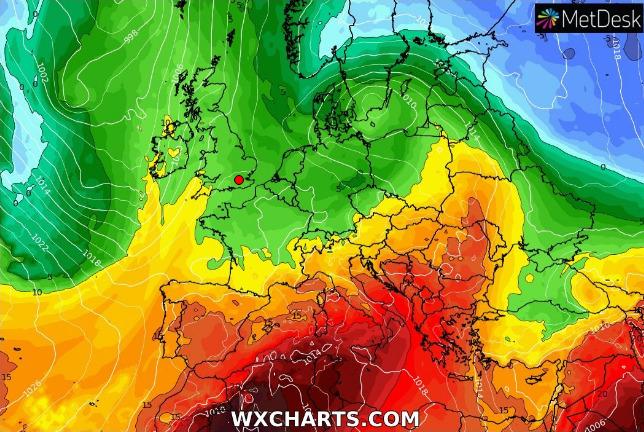 Tempo stabile con clima caldo per alcuni giorni