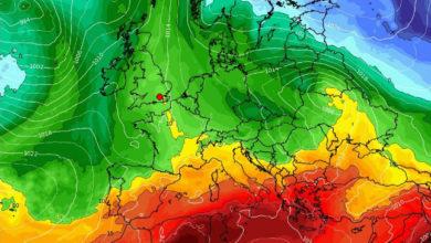 Parziale cedimento dell'anticiclone Tropicale