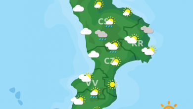 Previsioni Meteo Calabria 18-09-2021