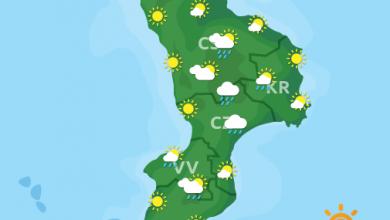 Previsioni Meteo Calabria 28-09-2021