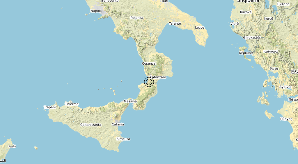 Terremoto 12-09-2021