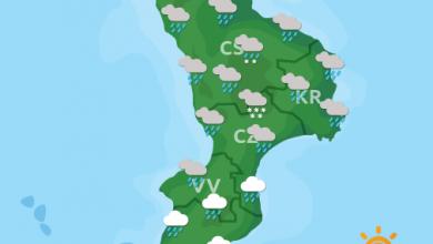 Previsioni Meteo Calabria 13-10-2021