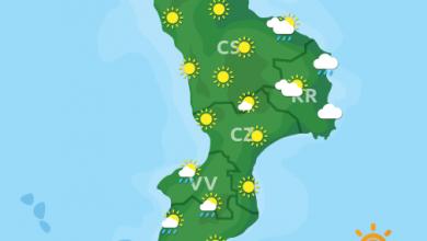 Previsioni Meteo Calabria 15-10-2021