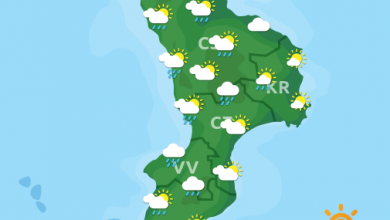 Previsioni Meteo Calabria 17-10-2021