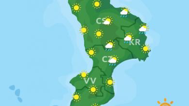 Previsioni Meteo Calabria 18-10-2021