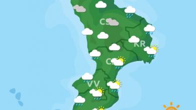 Previsioni Meteo Calabria 23-10-2021