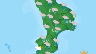 Previsioni Meteo Calabria 25-10-2021