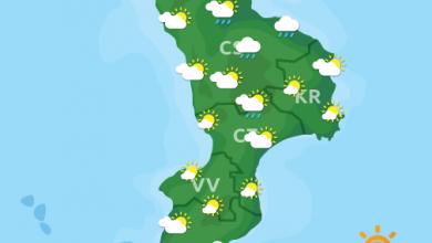 Previsioni Meteo Calabria 27-10-2021